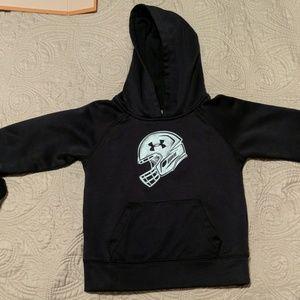 NWOT Under Armour Football Sweatshirt Size 2T